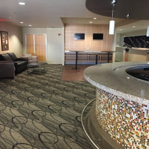 Loge Seating at Addition Financial Arena